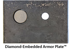 Diamond-Embedded